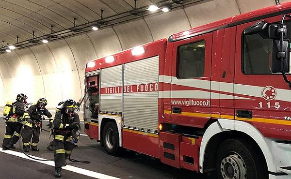 27/11/2018: Esercitazioni di sicurezza in A36